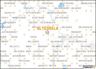 map of Altgommla