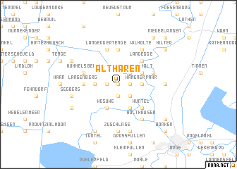 map of Altharen