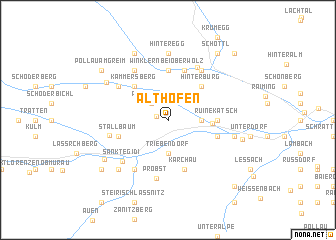 map of Althofen