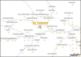map of Althofen