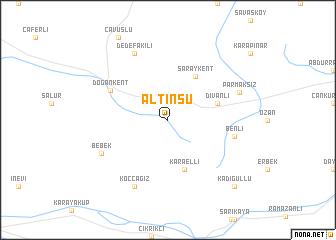 map of Altınsu
