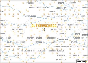 map of Altkerschegg