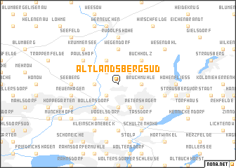 map of Altlandsberg-Süd