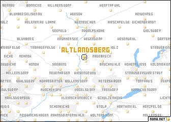 map of Altlandsberg