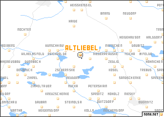 map of Altliebel