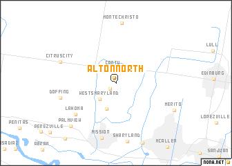 map of Alton North