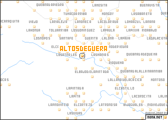 map of Altos de Güera