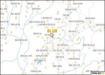 map of Alua