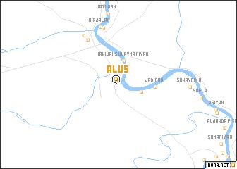 map of Ālūs