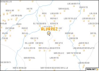 map of Álvarez