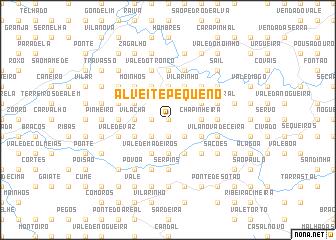 map of Alveite Pequeno