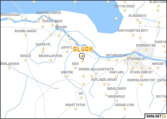 map of 'Alwah