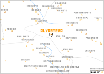 map of Alyab\