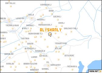 map of Alyshanly