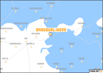 map of Amadou Ali Wéré