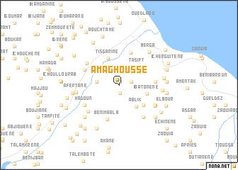 map of Amaghousse