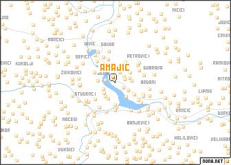 map of Amajić