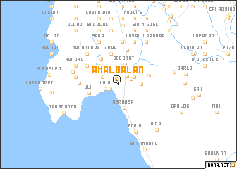 map of Amalbalan