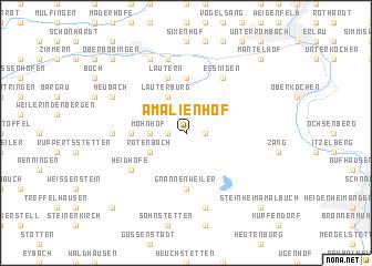 map of Amalienhof