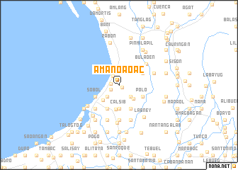map of Amanoaoac