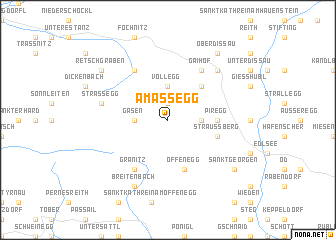 map of Amassegg