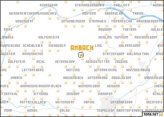 map of Ambach