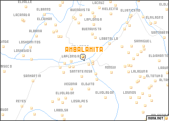map of Ambalamita