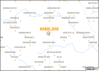 map of Ambalona