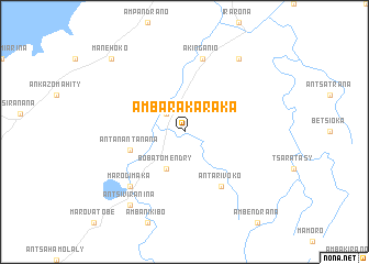 map of Ambarakaraka