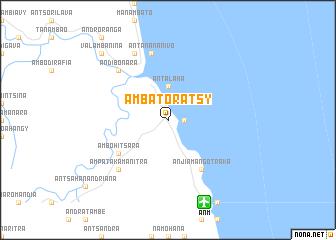 map of Ambatoratsy