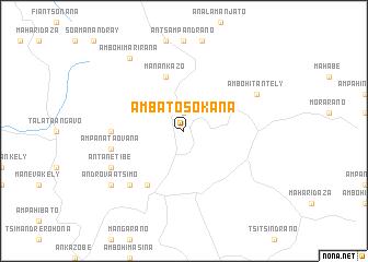 map of Ambatosokana