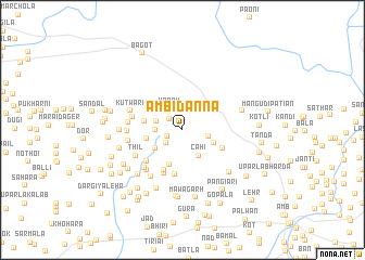 map of Ambi Danna