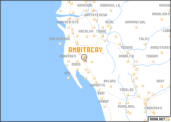 map of Ambitacay