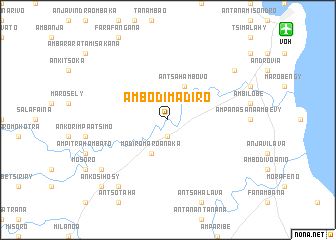 map of Ambodimadiro
