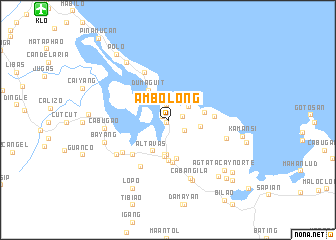 map of Ambolong