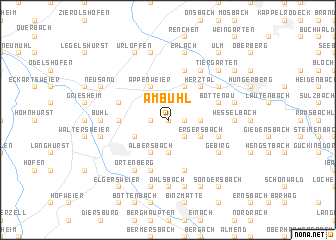 map of Am Bühl