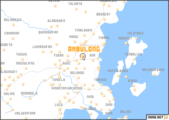 map of Ambulong