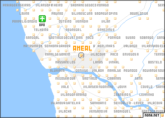 map of Ameal