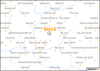 map of Amedo