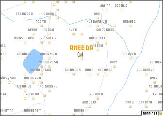 map of Ameeda