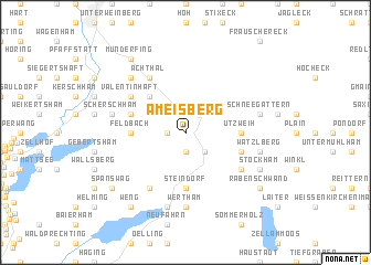 map of Ameisberg