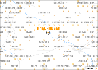 map of Amelhausen