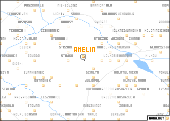 map of Amelin