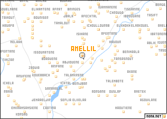 map of Amellil