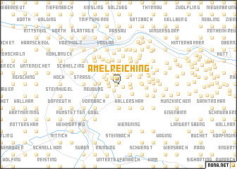 map of Amelreiching
