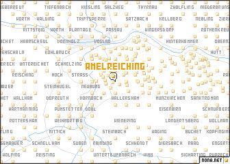 map of Amelreiching