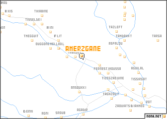 map of Amerzgane