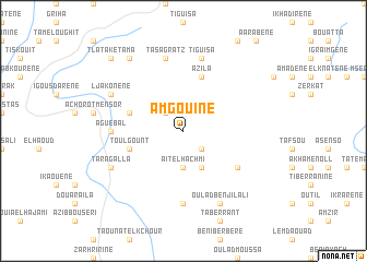 map of Amgouine