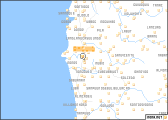 map of Amguid