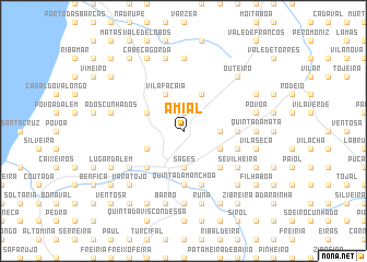 map of Amial
